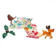 Christmas Baking Decorations Uk by Christmas Cake Decorations And Toppers Uk Candle U0026 Cake Party Shop