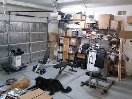 Home Gym by My Space Saving Home Gym Set Up A Quick View Youtube