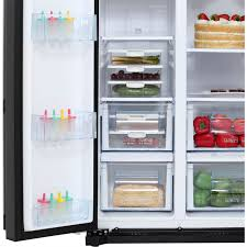 daewoo frax22b3s american fridge freezer silver