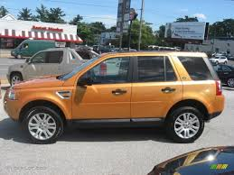 land rover lr2 2008 tambora flame orange 2008 land rover lr2 se exterior photo