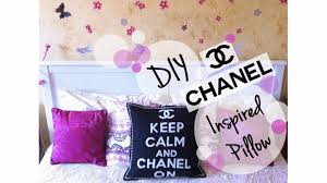 home decor tutorial how to make a diy chanel inspired pillow