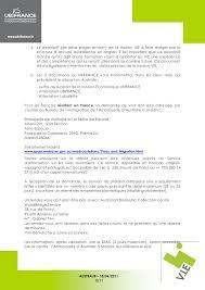 Lettre De Demande De Visa En Anglais vie australie visa 406