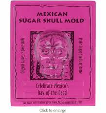 sugar skull molds original sugar skull mold large front and back of skull set of 2
