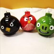 angry birds ornaments lol clay ornaments lol and