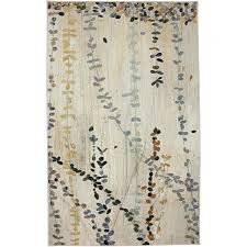 Nylon Bath Rugs Amazon Com Mohawk Home New Wave Trailing Vines Abstract Printed