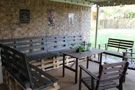 Patio Furniture Pallets by Build Your Own Patio Furniture With Pallets Icamblog