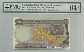 nut u0027s singapore banknotes collection singapore orchid series 25