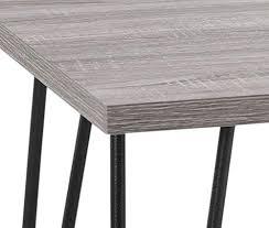 altra owen retro coffee table altra furniture owen retro coffee table with metal legs sonoma oak