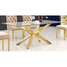 6 Seat Kitchen Table by 6 Seat Gold Kitchen U0026 Dining Tables You U0027ll Love Wayfair