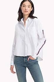 sleeveless collared blouse s blouses shirts hilfiger usa
