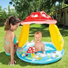 Intex Inflatable Pool Intex 57114ep Inflatable Mushroom Baby Water Play Center Kids Pool