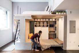 multi functional space saving loft squeezed into small san