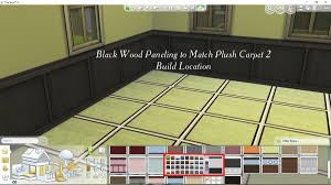 covering paneling mod the sims black wood and white wood paneling to match plush