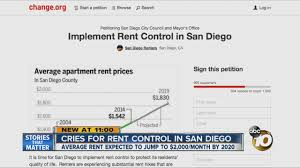 cries for rent control in san diego youtube
