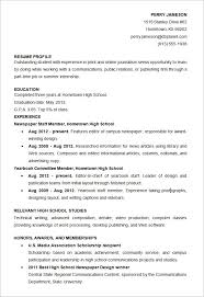 Free Resume Templates For Students Free Resume Templates For High Students Resume Template