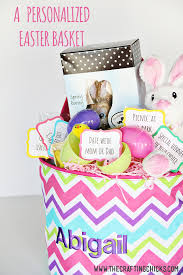 personalized easter basket personalized easter basket