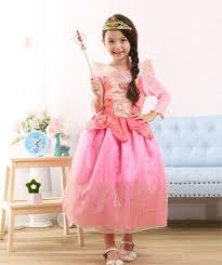 Sleeping Beauty Halloween Costume Princess Aurora Costume Girls Aurora Sleeping Beauty Dress