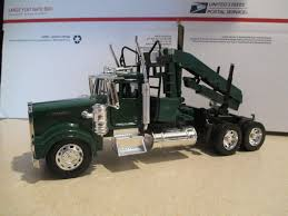 new truck kenworth new ray kenworth w 900 semi tractor log loader diecast 1 32 model