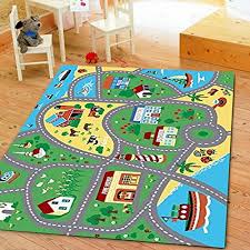 furnish my place city street map children learning carpet kids