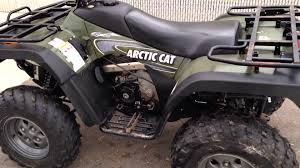 2003 arctic cat 400 youtube