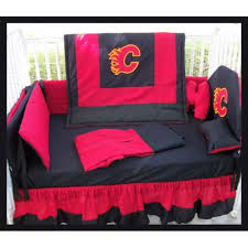 Crib Bedding Calgary Flames Crib Bedding Set