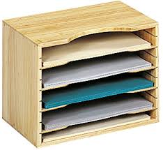 Desk Filing Organizer Wooden File Organizer In File And Mail Organizers