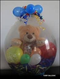 teddy bears inside balloons how to put gifts inside balloons gift and craft