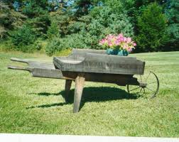 42 best wheelbarrows vintage images on pinterest wooden
