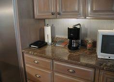 Heavy Copper Backsplash Sheets Copper Backsplash Kitchen Redo - Corrugated metal backsplash