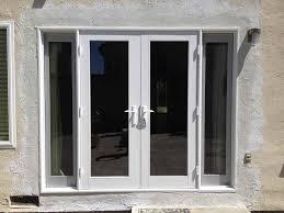 5 Foot Sliding Patio Doors Hfpnli Blinds Aluminum Back Door 2xg Half Glazed Flat Panel Upvc