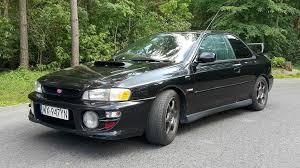 subaru coupe rs subaru impreza rs 1999 sprzedane giełda klasyków