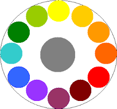 grey complimentary colors artists color wheels