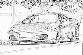 ferrari f430 coloring pages printable u0026 free ferrari cars