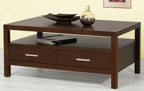 Two Drawer Coffee Table Linon Peggy Coffee Table White Two Drawers One Shelf Walmartcom