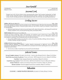 Prep Cook Sample Resume by Cook Resume Cook Resume Sample Line Cook Resume Cook Resume