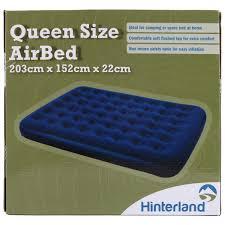 hinterland queen size airbed big w