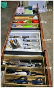 Kitchen Drawer Organization Ideas by 48 Best Organizing Drawers Includes Junk Drawer Images On