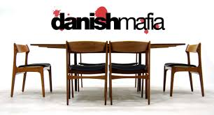 Danish Modern Teak Desk by Chair Teak Dining Table Etsy Mid Century Modern Room And Chairs Il