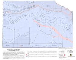 Lincoln Illinois Map by Aquifer Properties Groundwater Water Data Snr Unl