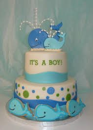 baby shower whale theme cake with matching cookies things i u0027ve