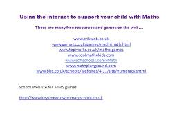 supporting your child with maths parents meeting 30 th january 9am