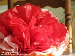 How To Make Mexican Paper Flowers - 31 crafty flowers in 31 days tutorials giant mexican tissue paper