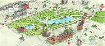 London Maps Holland Park London Map Map Of Holland Park London England