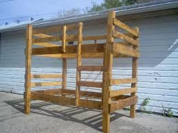 Make Your Own Wooden Bunk Bed by Best 25 Homemade Bunk Beds Ideas On Pinterest Baby And Kids