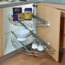 plateau tournant meuble cuisine meuble d angle cuisine et billot adaptés pour aménager une cuisine