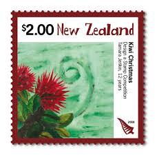 christmas 2008 zealand stamps