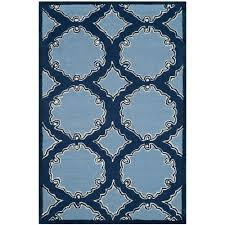 nuloom trellis navy blue 6 ft x 9 ft area rug mtvs27d 609 the