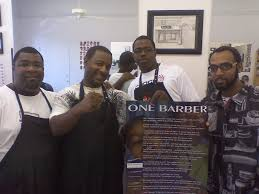 one barber shop listing content
