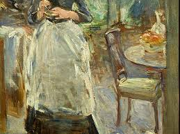 Cooking Storms Head For Art - Berthe morisot in the dining room