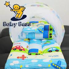 Kasur Bayi Karakter kasur lipat kelambu bayi motif mobil mobilan pesawat jual